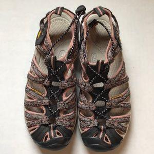Keen hiking sandals waterproof size 9 1/2